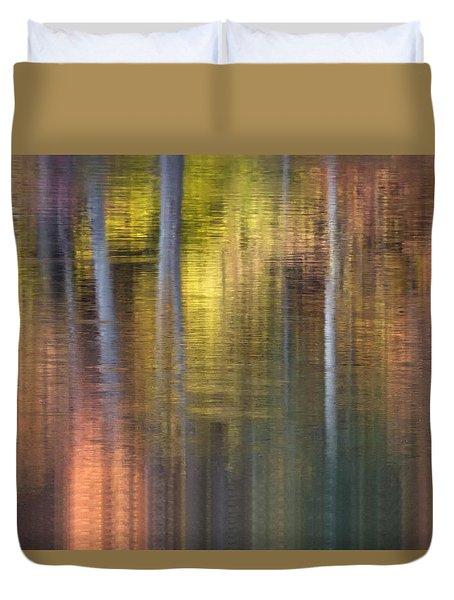 Colors Of Fall 04 Duvet Cover