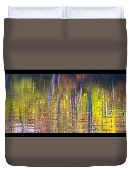 Colors Of Fall 08 Duvet Cover