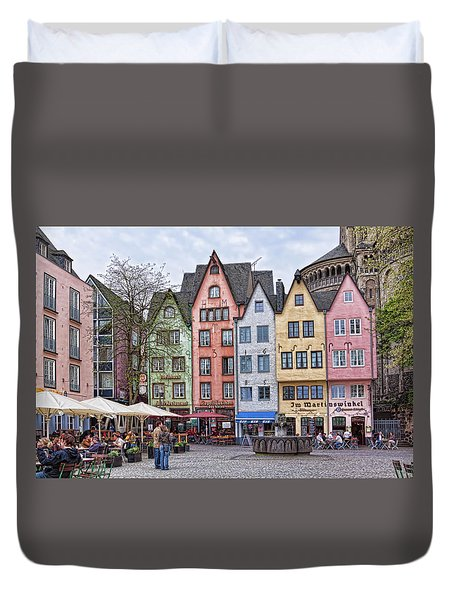 Colors Of Germany Duvet Cover
