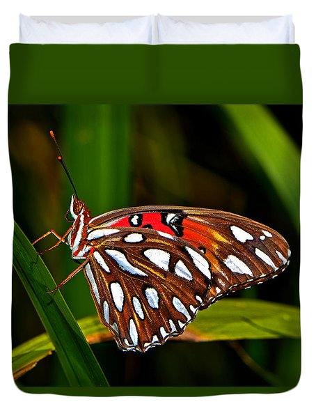 Duvet Cover featuring the photograph Colors Of Nature - Natures Tapestry by George Bostian