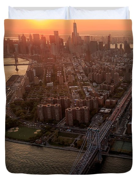 Colors Of Ny Duvet Cover
