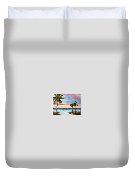 Colors Of Siesta Key Duvet Cover