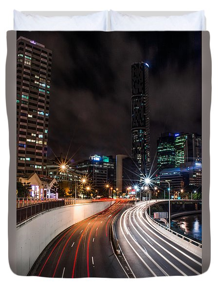 Colors Of The City Duvet Cover
