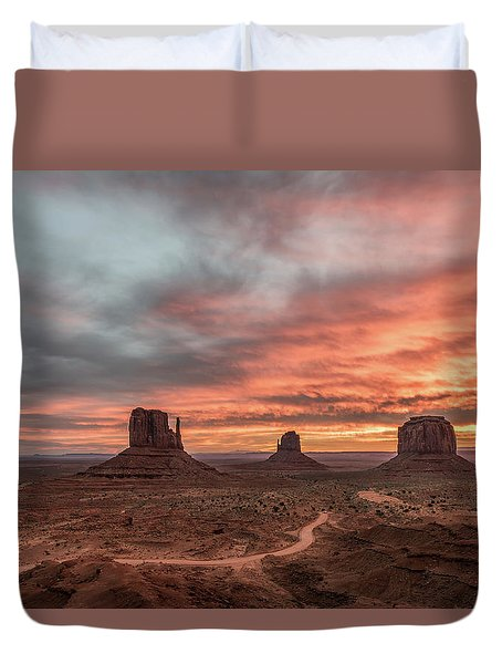 Colors Of The Past Duvet Cover by Jon Glaser