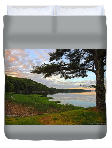 Colors Of The River Duvet Cover