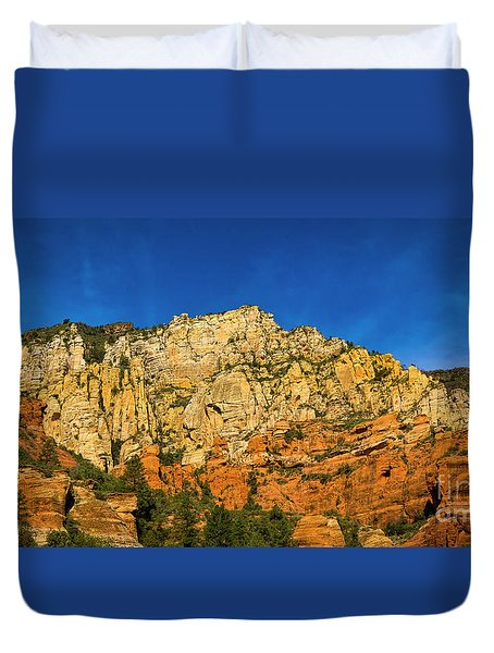 Colors Of The Southwest Duvet Cover