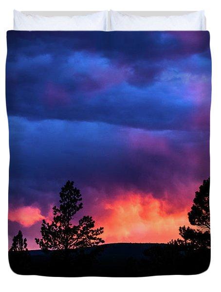 Colors Of The Spirit Duvet Cover