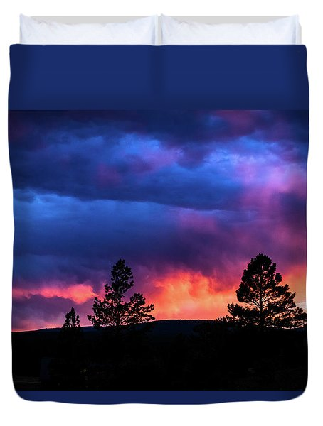 Colors Of The Spirit Duvet Cover