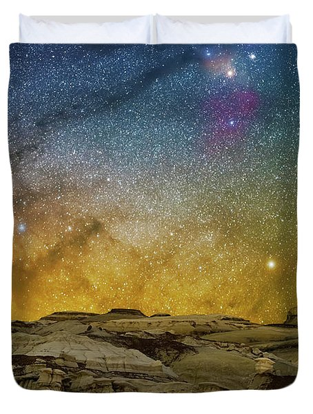 Colors On The Rise Duvet Cover