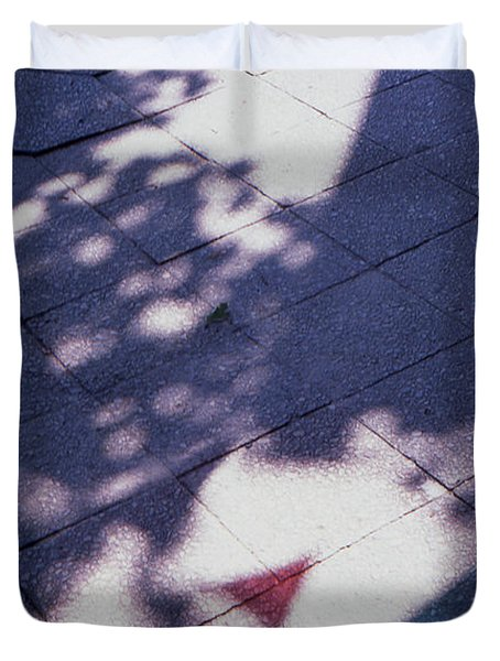 Colors On The Shadows Duvet Cover