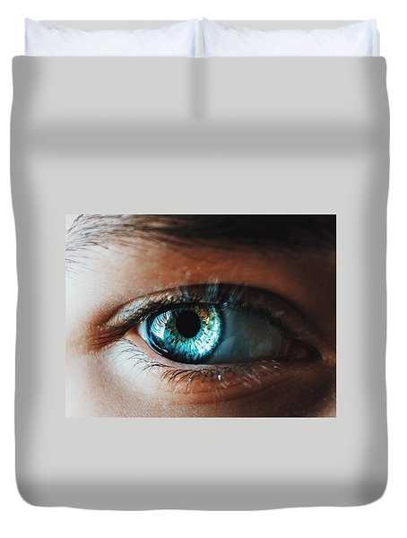 Duvet Cover featuring the photograph Colors by Parker Cunningham