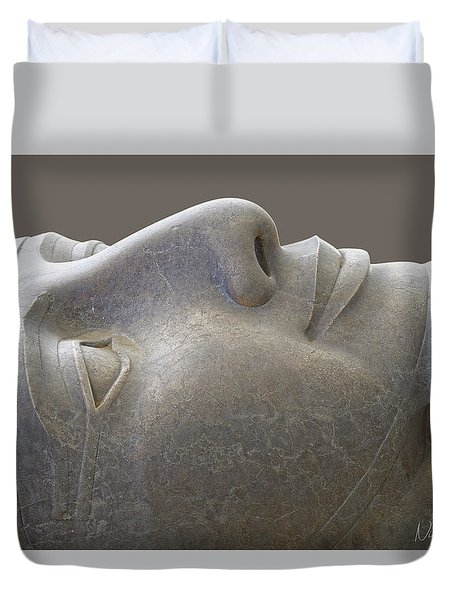 Colossal Smile Duvet Cover