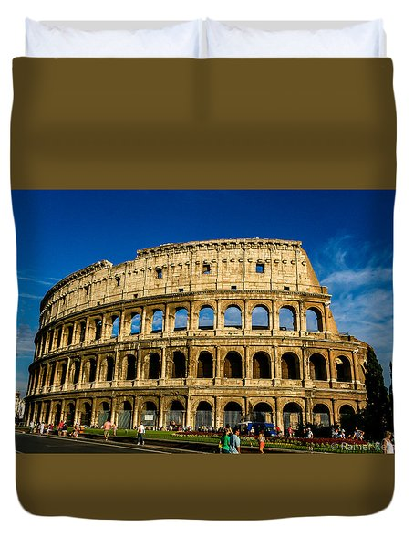 Colosseo Roma Duvet Cover