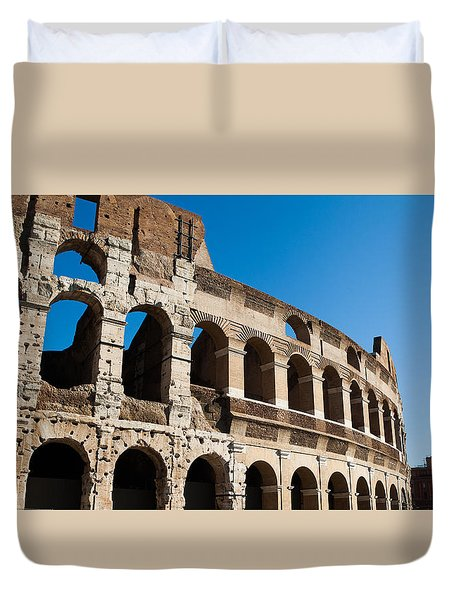 Colosseum - Old And New Duvet Cover