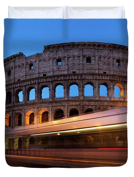 Colosseum Rush Duvet Cover