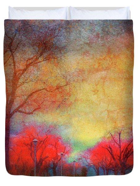 Colour Burst Duvet Cover by Tara Turner