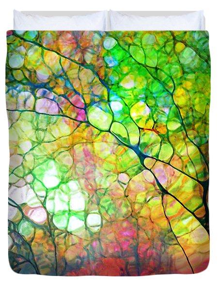 Colour Combustion Duvet Cover
