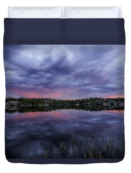 Colour In The Midnight Sky Duvet Cover