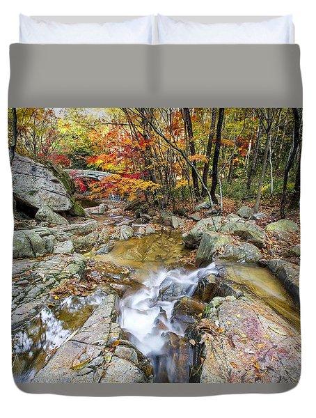 Colour Of Autumn Duvet Cover