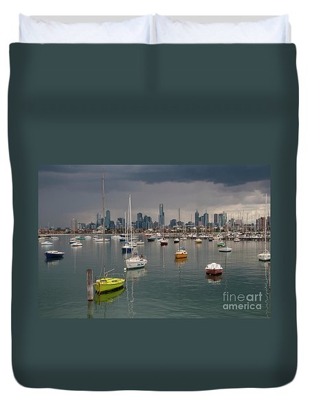 Colour Of Melbourne 2 Duvet Cover