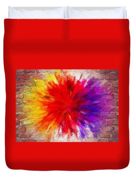 Colour To Lift Your Soul Duvet Cover