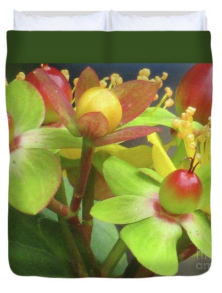 Coloured Beads Duvet Cover