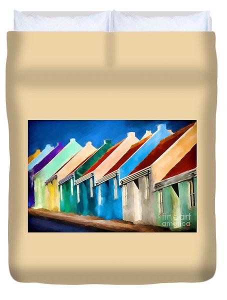 Coloured Duvet Cover