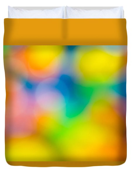 Duvet Cover featuring the photograph Colourful Dreams by Keith Hawley