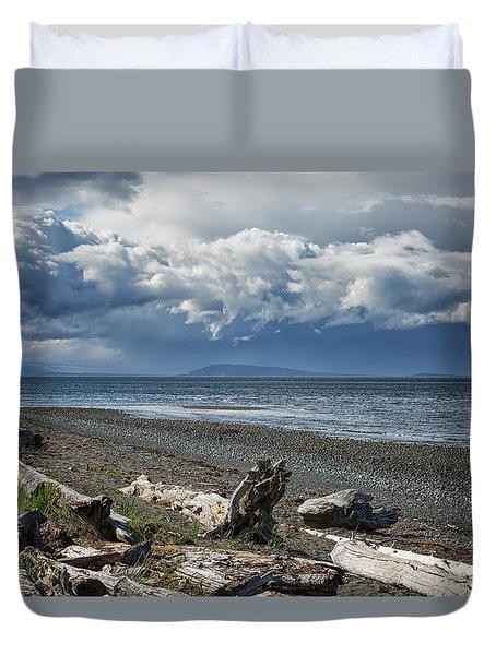 Columbia Beach Duvet Cover
