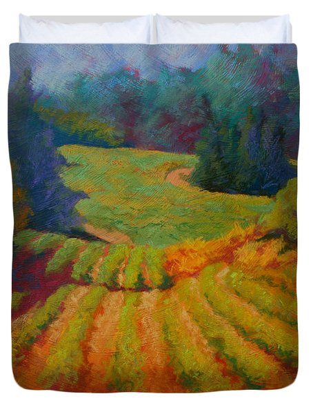 Columbia Valley Vineyard Duvet Cover