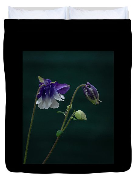 Columbine Stages Duvet Cover