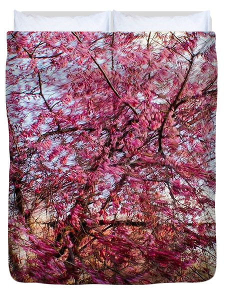 Columnar Sargent Cherry 1 Duvet Cover