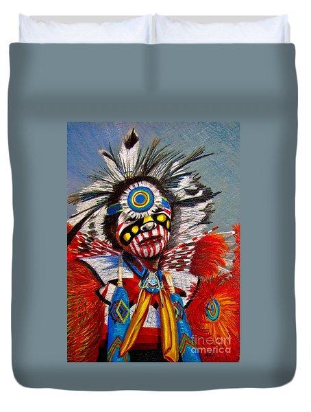 Comanche Dance Duvet Cover