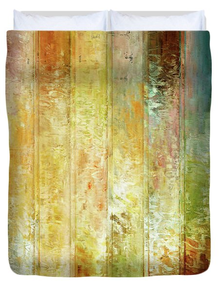 Come A Little Closer - Abstract Art Duvet Cover