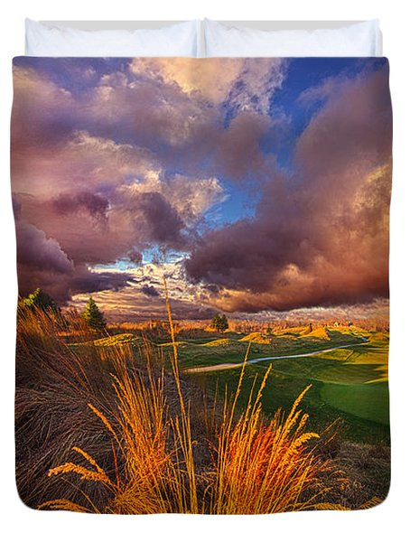 Come Dance With The West Wind Duvet Cover by Phil Koch