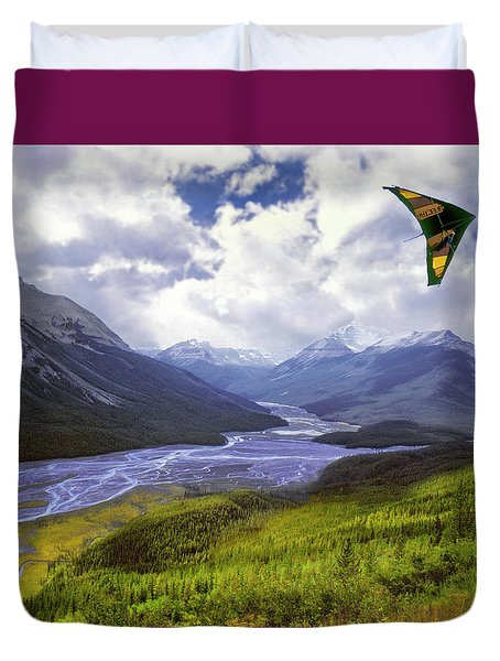 Come Fly With Me Duvet Cover