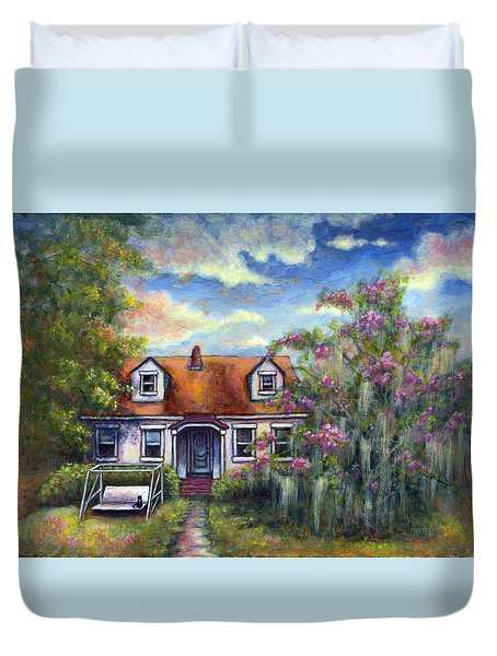 Come Let Me Love You Duvet Cover by Retta Stephenson