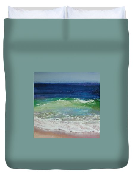 Come On In Duvet Cover by Jeanne Rosier Smith
