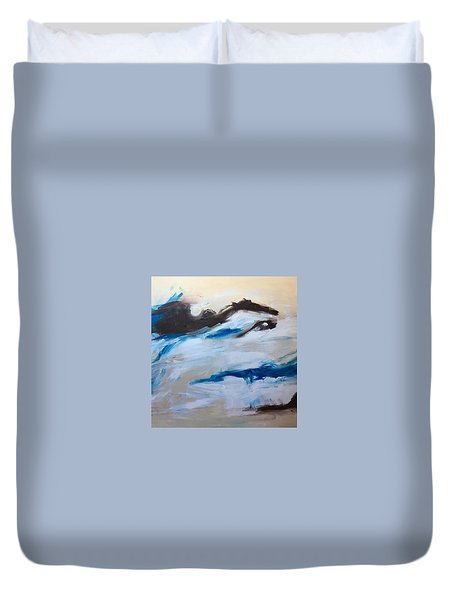 Come Play Duvet Cover