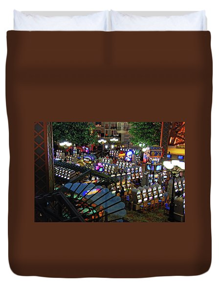 Duvet Cover featuring the photograph Come Play With Me by John Schneider