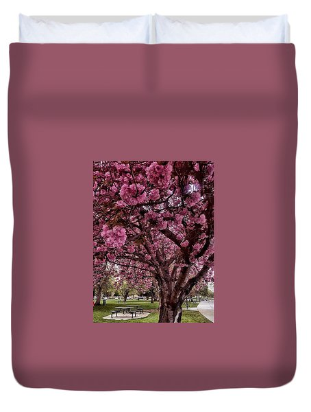 Come Sit With Me Duvet Cover