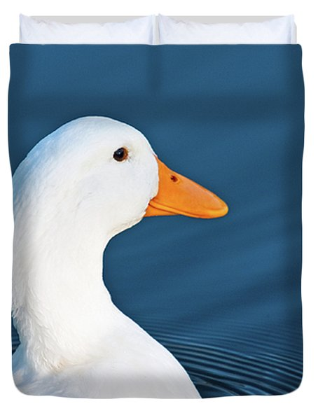 Come Swim With Me Duvet Cover
