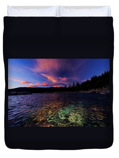 Duvet Cover featuring the photograph Come To My Window by Sean Sarsfield