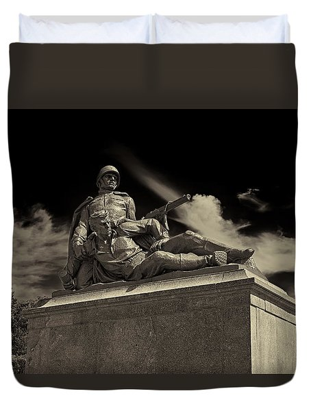 Come With Me If You Want To Live Duvet Cover