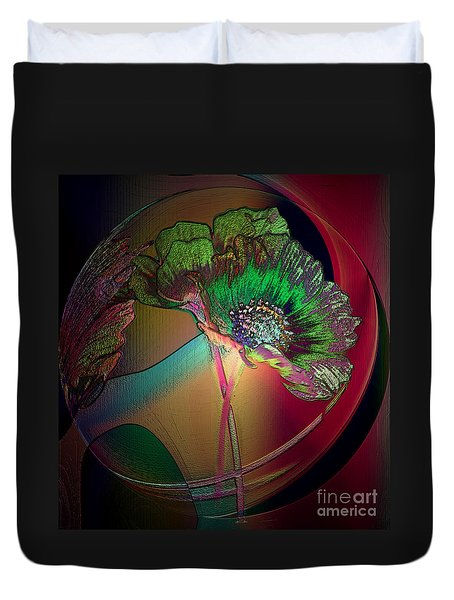 Comely Cosmos Duvet Cover by Irma BACKELANT GALLERIES