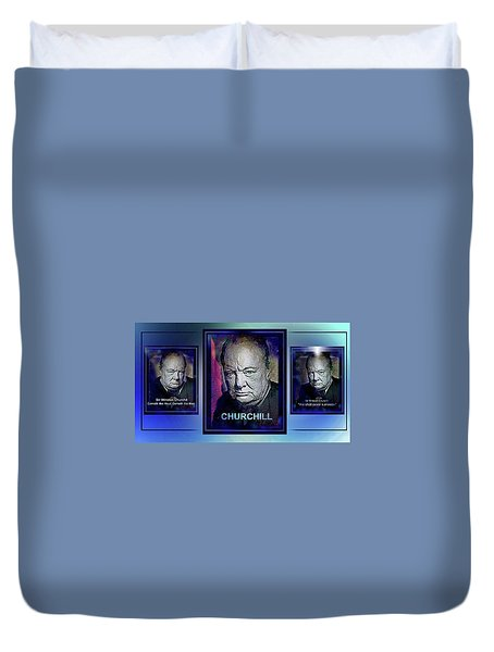 Cometh The Hour . . .  Duvet Cover