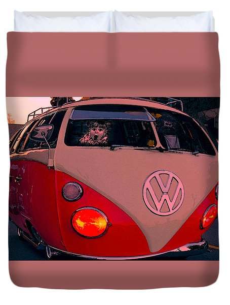 Comic Combi Duvet Cover by Bill Dutting