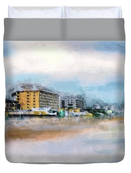 Comin' Back To Me Duvet Cover