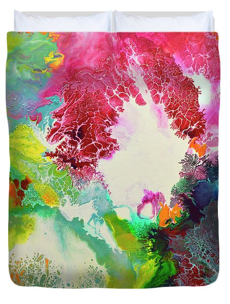 Coming Alive 3 Duvet Cover