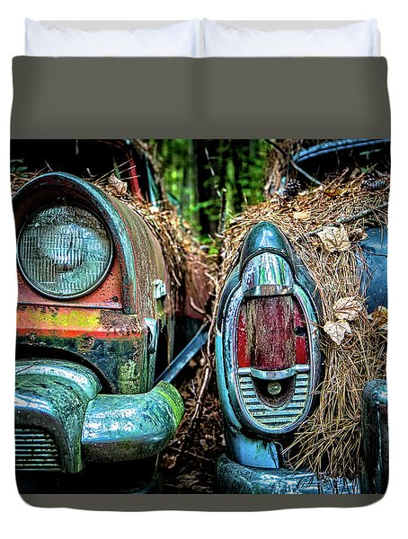Coming And Going Duvet Cover